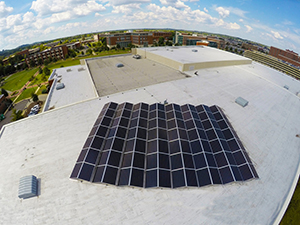 50 kW Rooftop Solar Installation - UAB Campus Recreation Center